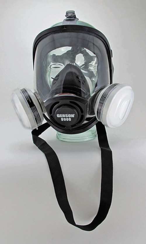 TPE Full Face OV/P95 Respirator Kit