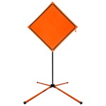 SafeZone Series SZ-412-X Sign Stand