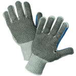West Chester Protective Gear 712SKBSGT Dotted String Knit Gloves