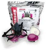 Professional Series Half-Mask Respirator with G71 Cartridge Kits
