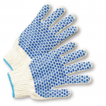 West Chester Protective Gear B710SBS Dotted String Knit Gloves