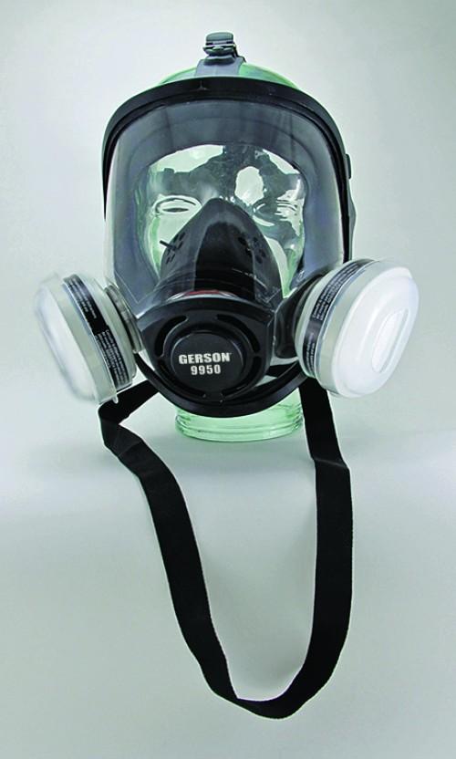 Silicone Full Face OV/P95 Respirator Kit