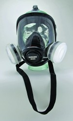 Silicone Full Face OV/P95 Respirator Kit