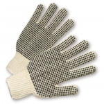 West Chester Protective Gear K708SKBS Dotted String Knit Gloves