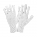 West Chester Protective Gear K708SKW Dotted String Knit Gloves