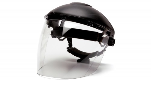 Tapered Polycarbonate Face Shield S1110