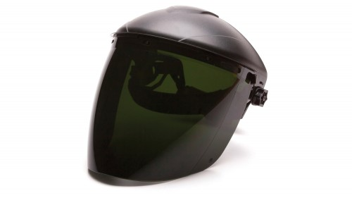 Tapered IR5 Polycarbonate Face Shield S1150