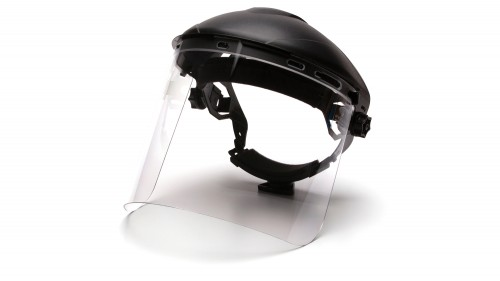 Cylinder Polycarbonate Face Shield S1210