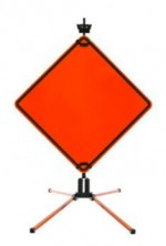 SafeZone Series SZ-412-2S Sign Stand